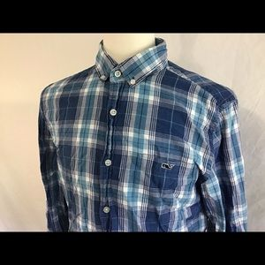 Vineyard Vines Slim Fit Shirt Size M Medium